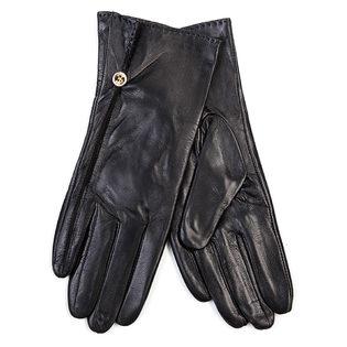 Перчатки кожа овца, цвет черный, арт. 18700288  - цена 1603 руб.  - магазин TOTOGROUP