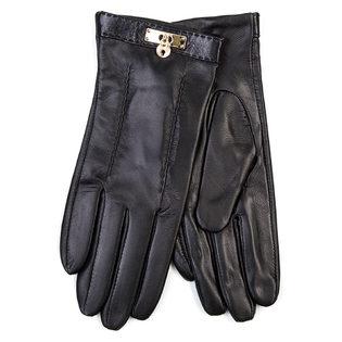Перчатки кожа овца, цвет черный, арт. 18700289  - цена 1603 руб.  - магазин TOTOGROUP