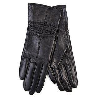 Перчатки кожа овца, цвет черный, арт. 18700290  - цена 1603 руб.  - магазин TOTOGROUP