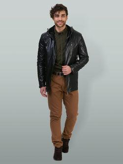 Кожаная куртка эко кожа 100% П/А, цвет черный, арт. 18700464  - цена 6490 руб.  - магазин TOTOGROUP
