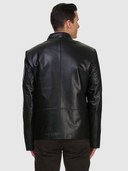 Кожаная куртка артикул 18700467/46 - фото 3