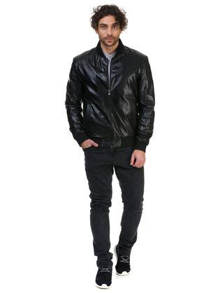 Кожаная куртка эко кожа 100% П/А, цвет черный, арт. 18700470  - цена 4740 руб.  - магазин TOTOGROUP