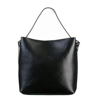 Сумка кожа теленок, цвет черный, арт. 18700535  - цена 5990 руб.  - магазин TOTOGROUP