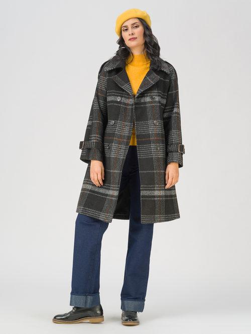 Текстильное пальто артикул 18711402/42 - фото 2