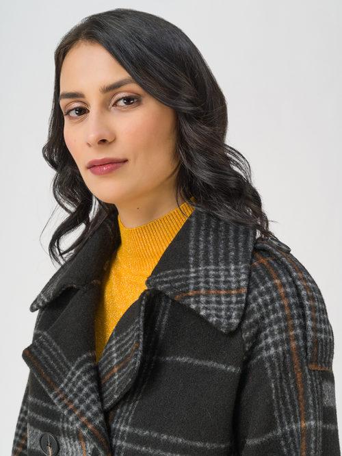 Текстильное пальто артикул 18711402/42 - фото 3
