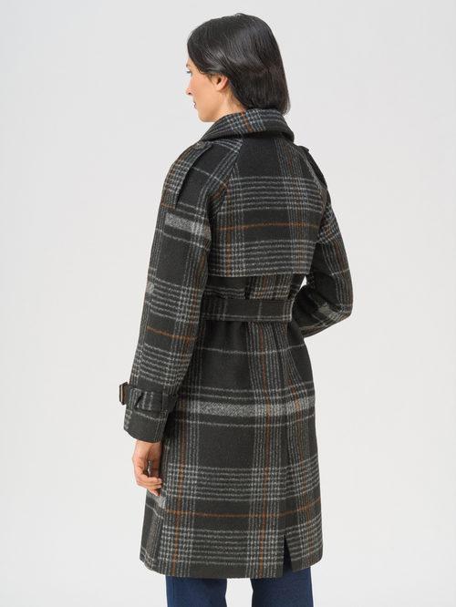Текстильное пальто артикул 18711402/42 - фото 4