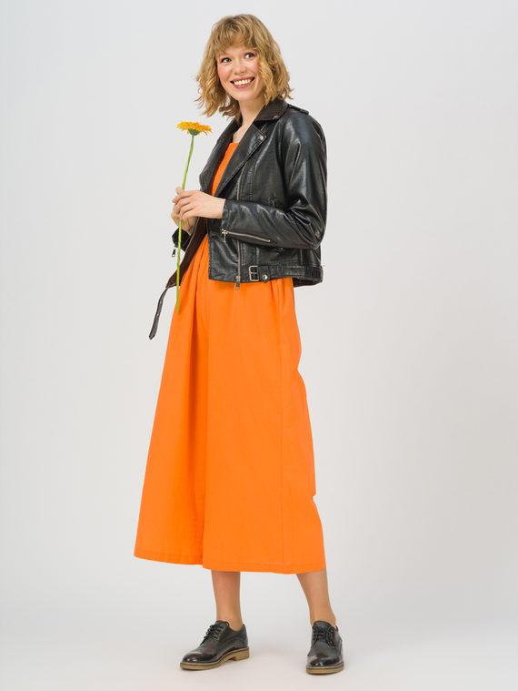 Кожаная куртка эко-кожа 100% П/А, цвет черный, арт. 18711457  - цена 2990 руб.  - магазин TOTOGROUP