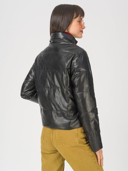 Кожаная куртка артикул 18711480/42 - фото 4