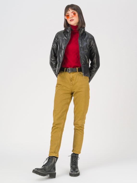 Кожаная куртка эко-кожа 100% П/А, цвет черный, арт. 18711480  - цена 3990 руб.  - магазин TOTOGROUP