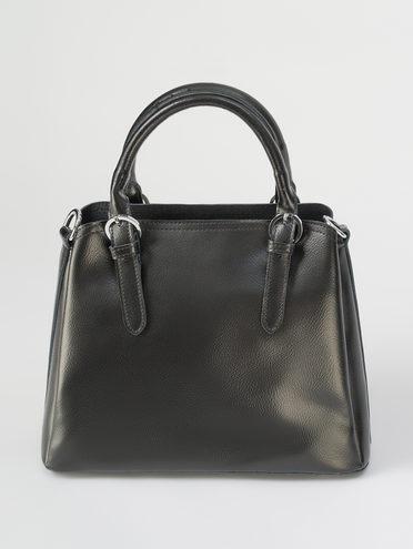 Сумка кожа теленок, цвет черный, арт. 18711608  - цена 4490 руб.  - магазин TOTOGROUP