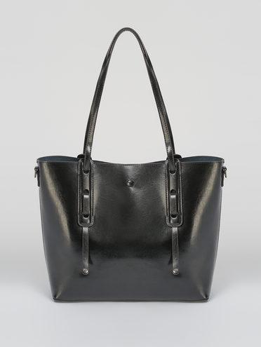Сумка кожа теленок, цвет черный, арт. 18711629  - цена 4740 руб.  - магазин TOTOGROUP