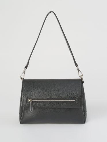 Сумка кожа корова флоттер, цвет черный, арт. 18711643  - цена 4490 руб.  - магазин TOTOGROUP