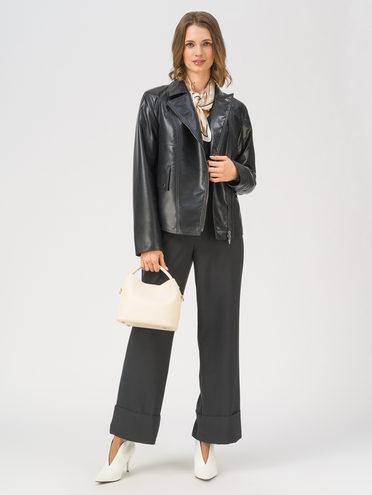 Кожаная куртка эко-кожа 100% П/А, цвет черный, арт. 18711663  - цена 3990 руб.  - магазин TOTOGROUP