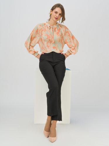 Брюки женские 95% полиэстер 5% эластан, цвет черный, арт. 18711720  - цена 890 руб.  - магазин TOTOGROUP