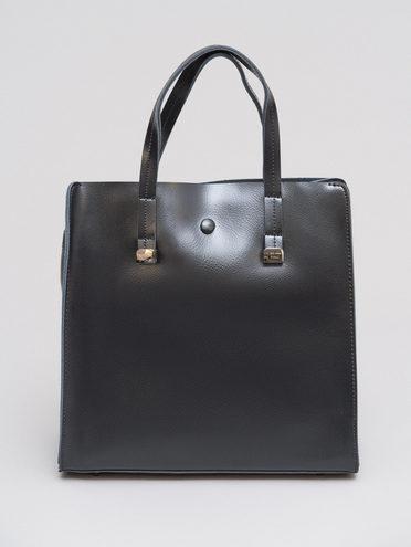 Сумка кожа теленок, цвет черный, арт. 18719926  - цена 5290 руб.  - магазин TOTOGROUP