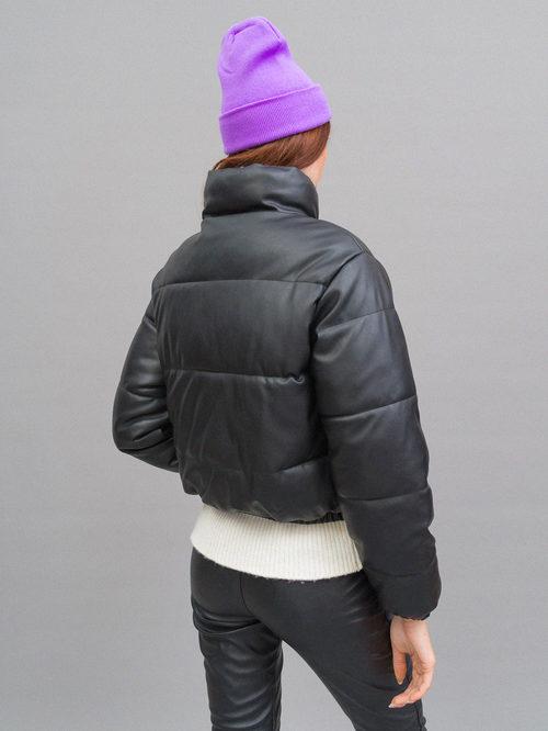 Кожаная куртка артикул 18719935/42 - фото 5