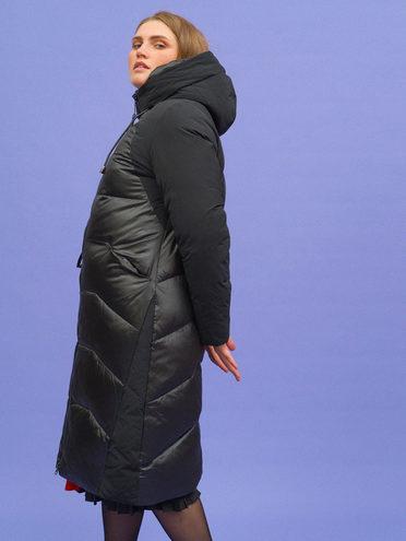 Пуховик 100% полиэстер, цвет черный, арт. 18719942  - цена 9990 руб.  - магазин TOTOGROUP