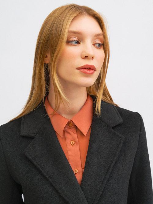 Текстильное пальто артикул 18719953/42 - фото 3