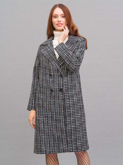 Текстильное пальто артикул 18719954/42 - фото 2