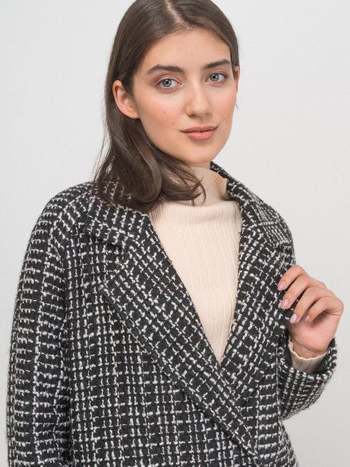 Текстильное пальто артикул 18719954/42 - фото 3