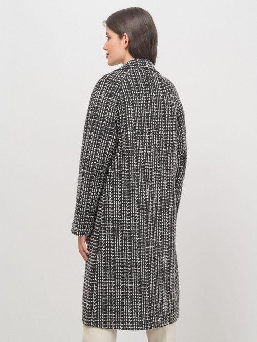 Текстильное пальто артикул 18719954/42 - фото 5