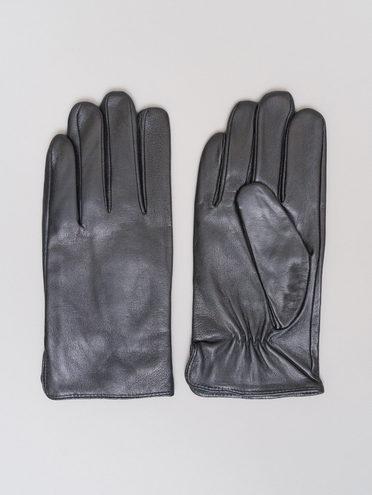Перчатки кожа коза, цвет черный, арт. 18720109  - цена 1490 руб.  - магазин TOTOGROUP