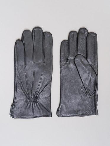 Перчатки кожа коза, цвет черный, арт. 18720111  - цена 1750 руб.  - магазин TOTOGROUP