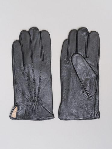 Перчатки кожа коза, цвет черный, арт. 18720112  - цена 1990 руб.  - магазин TOTOGROUP