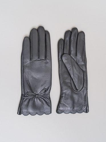 ПЕРЧАТКИ кожа, цвет черный, арт. 18720137  - цена 2290 руб.  - магазин TOTOGROUP