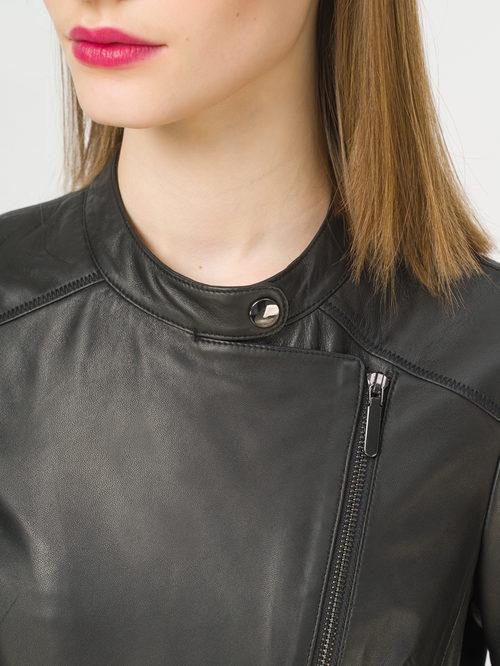 Кожаная куртка артикул 18802457/44 - фото 4