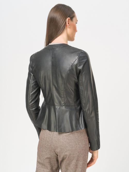 Кожаная куртка артикул 18802466/44 - фото 3