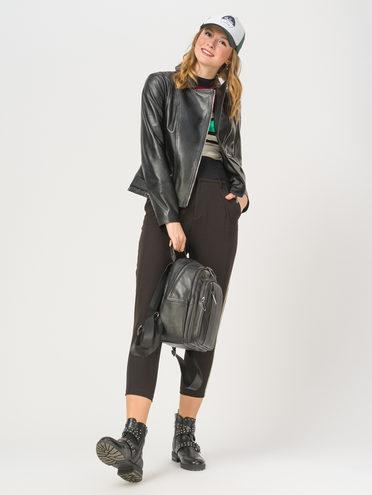 Кожаная куртка кожа , цвет черный, арт. 18802469  - цена 9990 руб.  - магазин TOTOGROUP