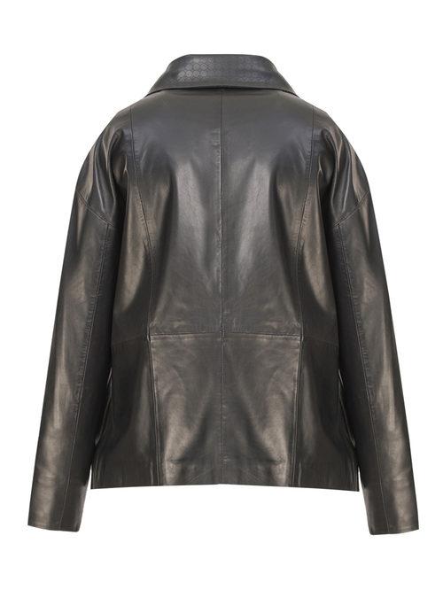 Кожаная куртка артикул 18802502/50 - фото 2