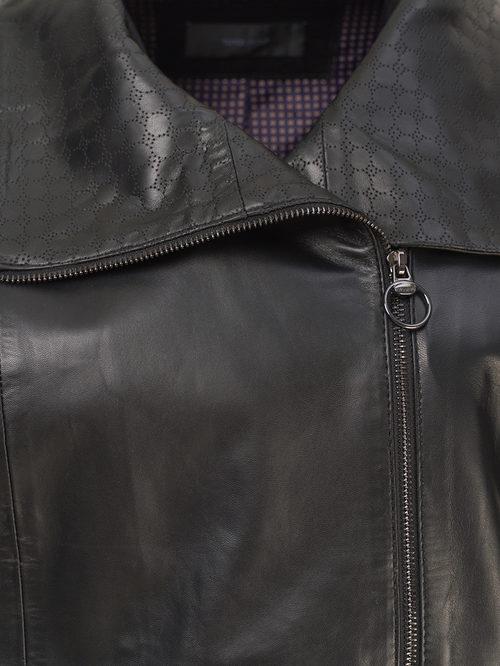 Кожаная куртка артикул 18802502/50 - фото 3