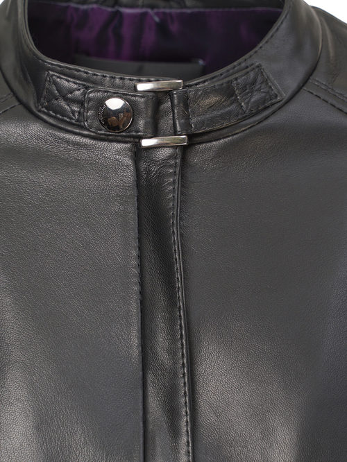 Кожаная куртка артикул 18809201/48 - фото 3