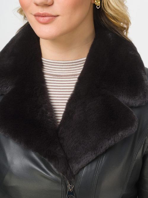 Кожаная куртка артикул 18809299/46 - фото 4