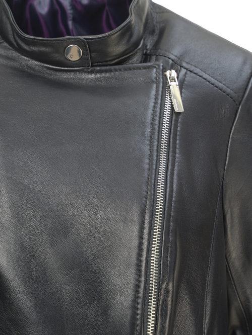 Кожаная куртка артикул 18809847/50 - фото 3
