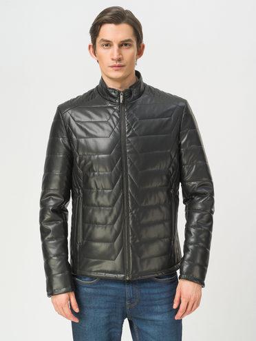 Кожаная куртка эко-кожа 100% П/А, цвет черный, арт. 18809872  - цена 5890 руб.  - магазин TOTOGROUP