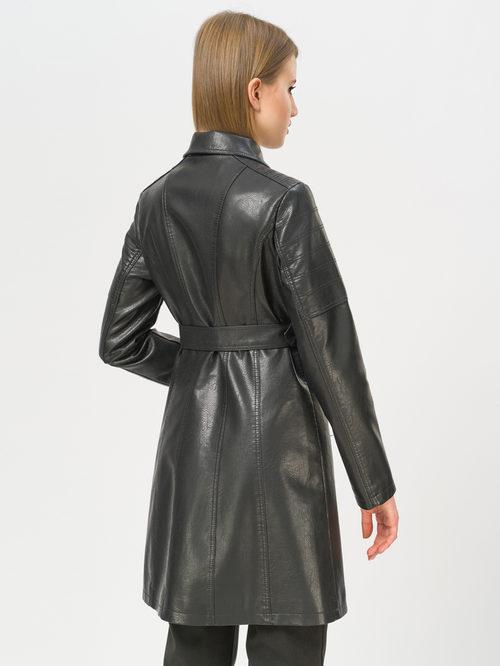 Кожаное пальто артикул 18809896/42 - фото 3