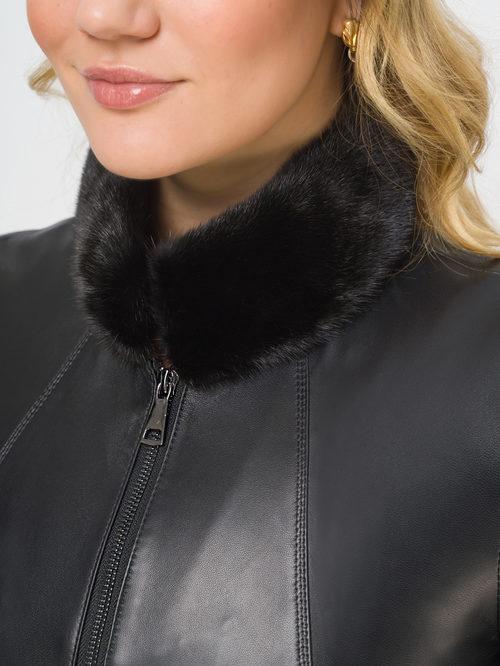 Кожаная куртка артикул 18809912/46 - фото 4