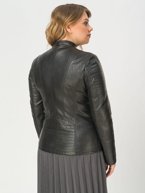 Кожаная куртка артикул 18809914/48 - фото 3