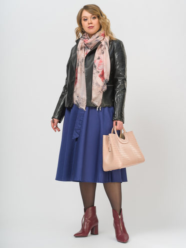 Кожаная куртка эко-кожа 100% П/А, цвет черный, арт. 18809926  - цена 4740 руб.  - магазин TOTOGROUP