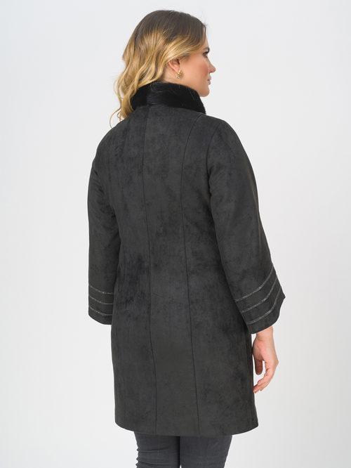 Кожаное пальто артикул 18810026/46 - фото 3