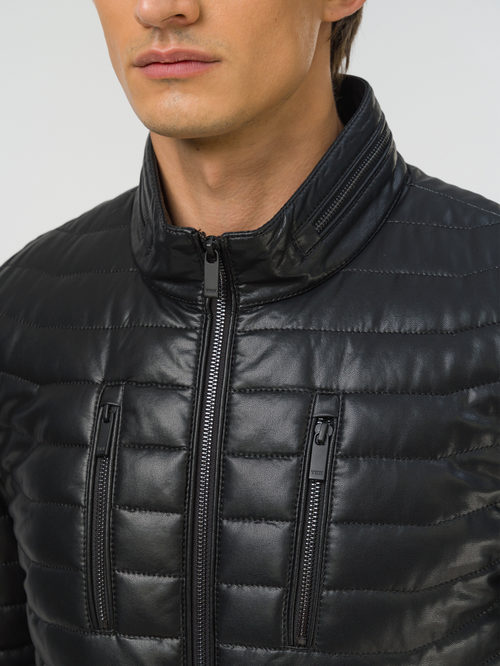 Кожаная куртка артикул 18810031/48 - фото 3