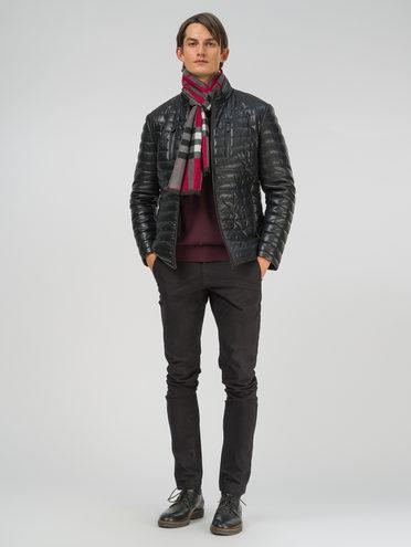 Кожаная куртка эко-кожа 100% П/А, цвет черный, арт. 18810031  - цена 8990 руб.  - магазин TOTOGROUP