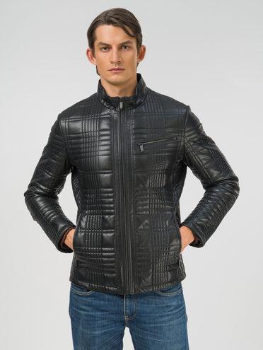 Кожаная куртка эко-кожа 100% П/А, цвет черный, арт. 18810032  - цена 9490 руб.  - магазин TOTOGROUP