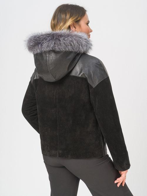 Кожаная куртка артикул 18810048/48 - фото 3