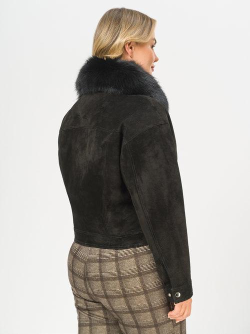 Кожаная куртка артикул 18810051/48 - фото 3