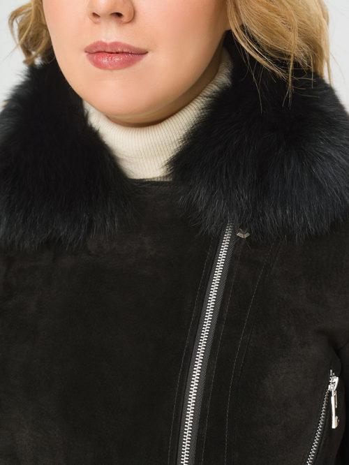 Кожаная куртка артикул 18810059/46 - фото 4