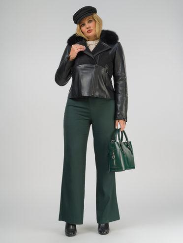 Кожаная куртка эко-кожа 100% П/А, цвет черный, арт. 18810066  - цена 8990 руб.  - магазин TOTOGROUP